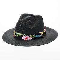 Peter Grimm Akoni Flat Brim Panama Hat