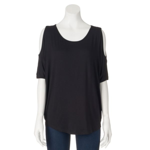 Women's Loramendi Cold-Shoulder Tee