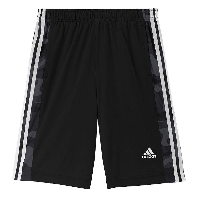 Boys 8-20 Husky adidas Essentials Camo Shorts