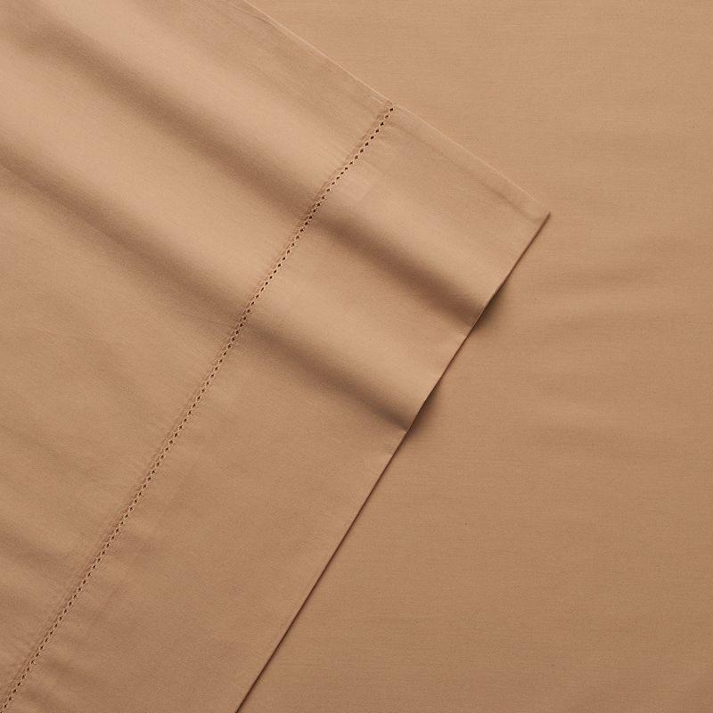 Andiamo Egyptian Cotton 4-piece 500 Thread Count Solid Sheet Set