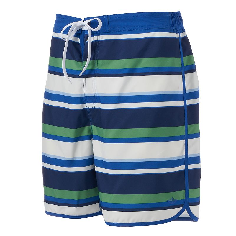 Men's Dockers Striped E-Board Shorts