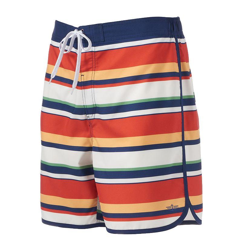 Men's Dockers Striped E-Board Shorts