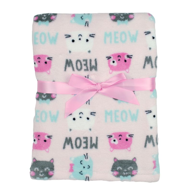 Baby Gear Printed Velboa Plush Blanket