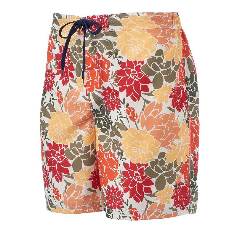 Men's Dockers Floral E-Board Shorts