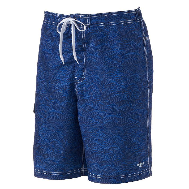 Men's Dockers Patterned E-Board Shorts