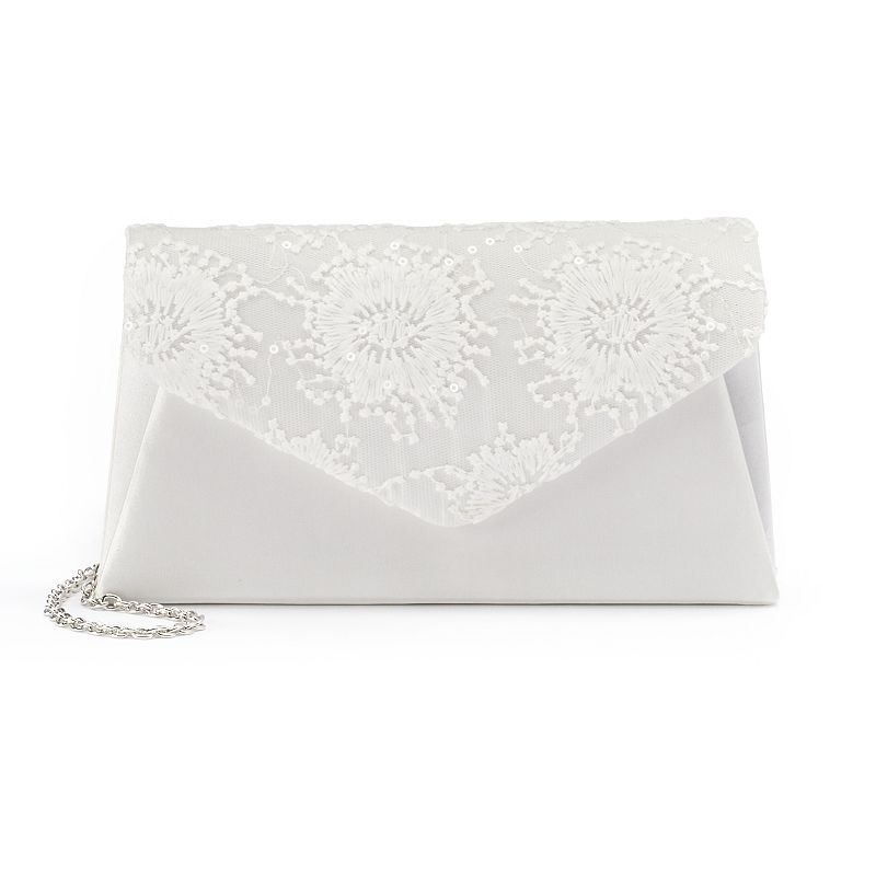 Gunne Sax by Jessica McClintock Lily Lace Sequined Clutch