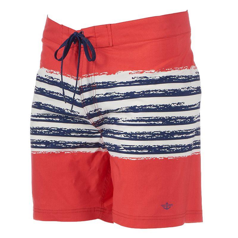 Men's Dockers Striped Swim Trunks