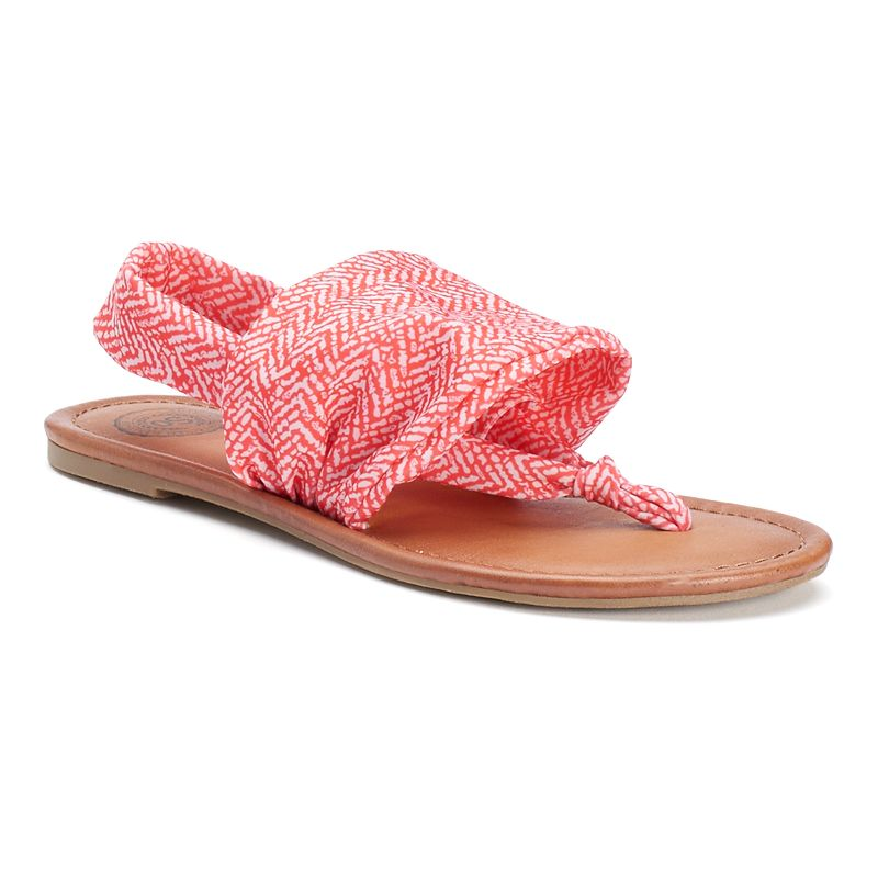 SO® Women's Stretch Sandals
