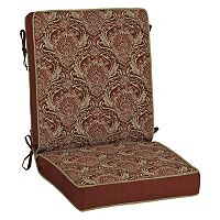 Bombay® Outdoors Venice Damask Reversible Patio Chair Cushion
