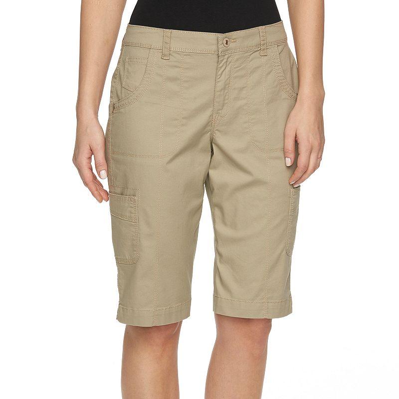 Women's Gloria Vanderbilt Cargo Bermuda Shorts
