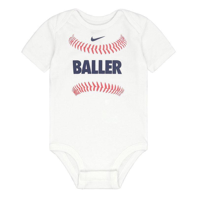 Baby Boy Nike Baseball Bodysuit