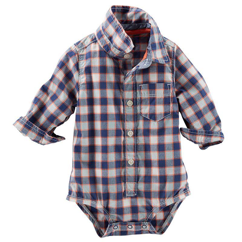 Baby Boy OshKosh B'gosh® Button-Down Bodysuit
