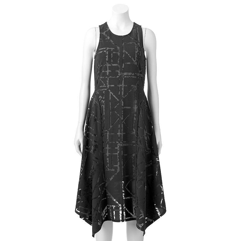 Women's Apt. 9® Burnout Midi Dress