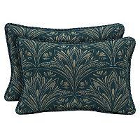 Bombay® Outdoors Royal Zanzibar Medallion Reversible Oblong Throw Pillow 2-piece Set