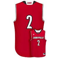 Men's adidas Louisville Cardinals Replica Basketball Jersey