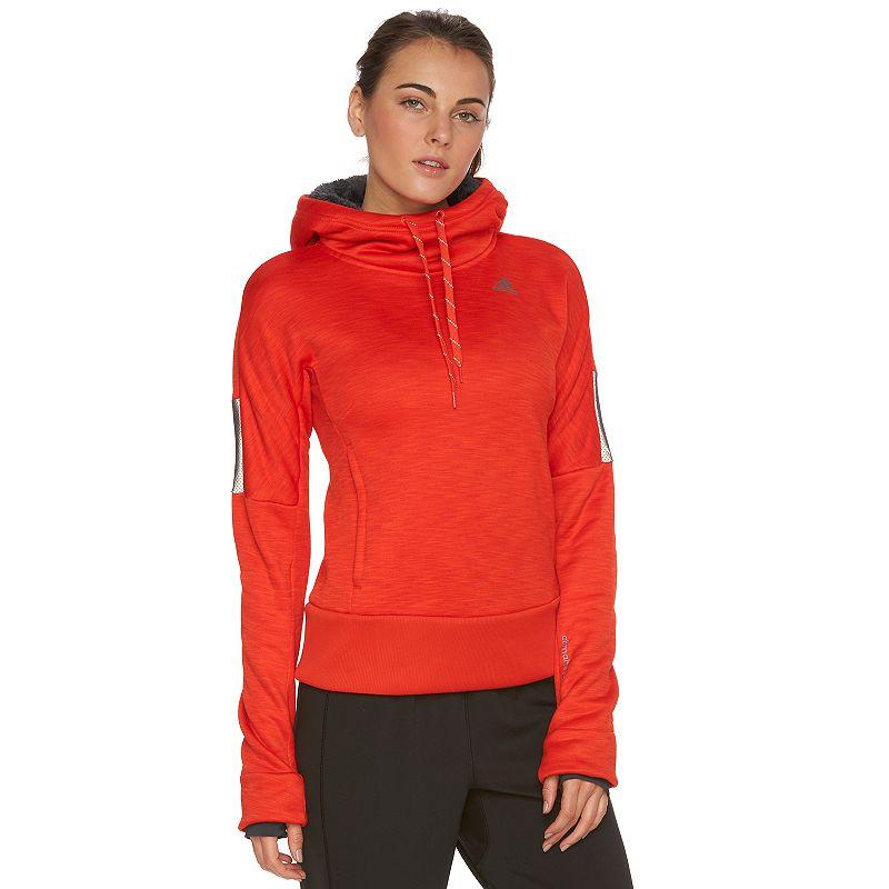 Women's adidas Beyond The Run climaheat Fleece Hoodie