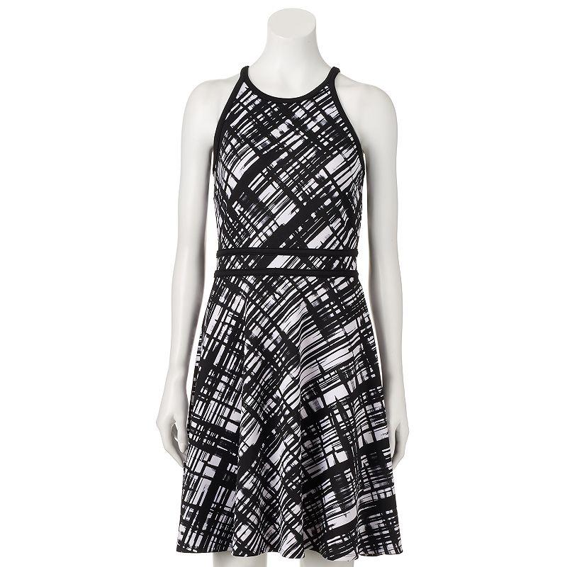 Women's Apt. 9® Scuba Fit & Flare Dress