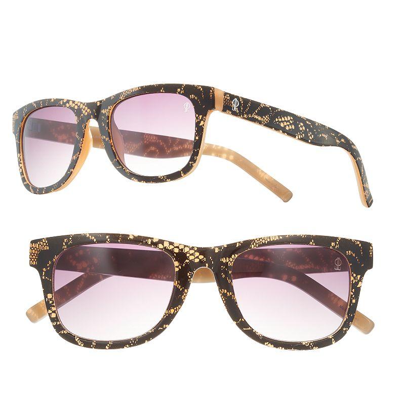 Women's Jennifer Lopez Parfait Retro Square Sunglasses