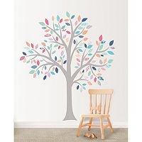 WallPops Patchwork Tree Wall Decal Set
