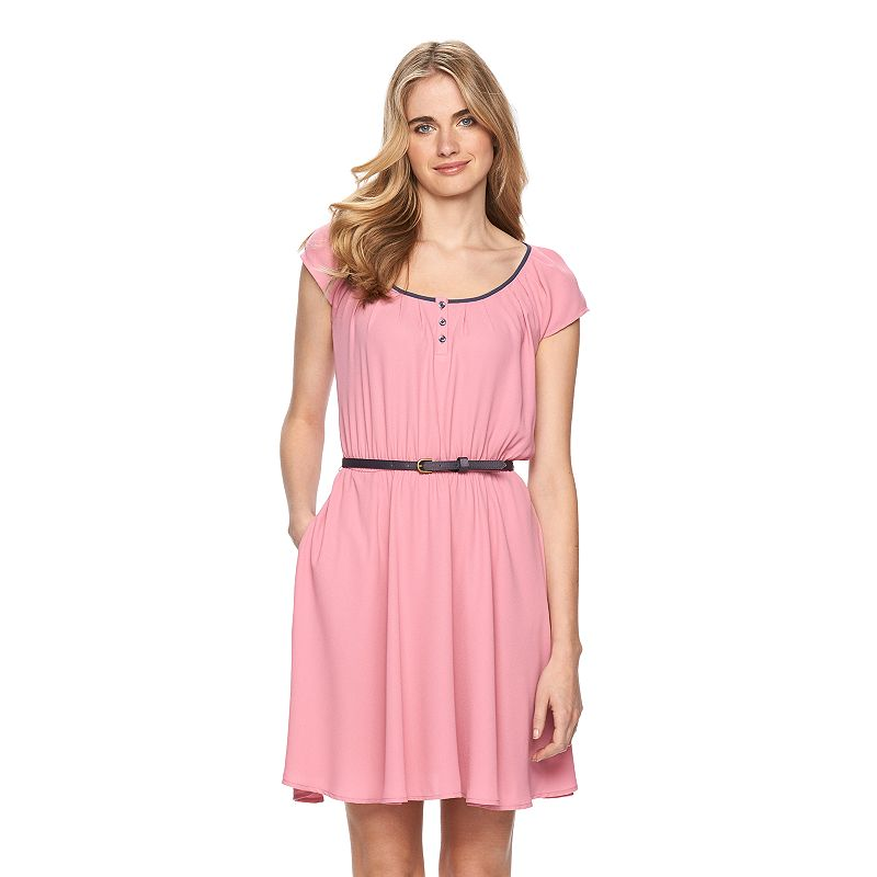 Women's LC Lauren Conrad Pleated Babydoll Dress