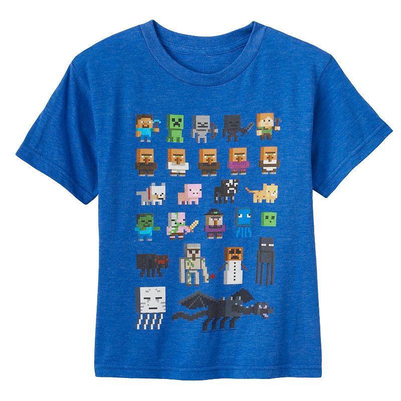 Kohl S Toys Boys 5 7 : Boys minecraft character tee dealtrend