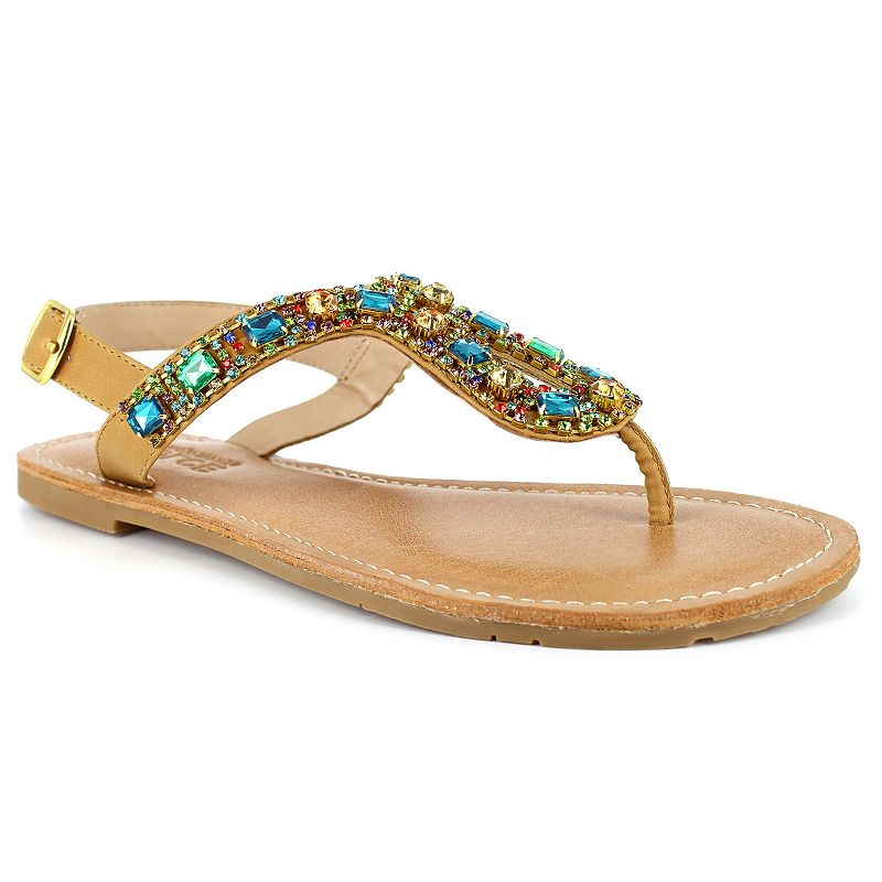 Dolce by Mojo Moxy Rosary Women's Thong Sandals