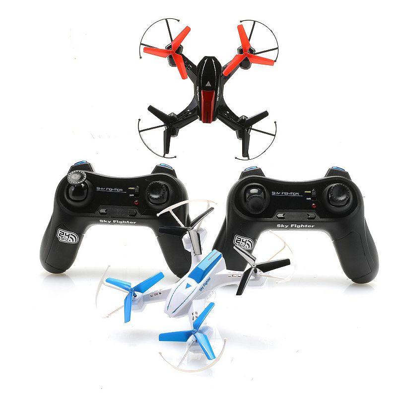 Riviera RC 2-pk. Air Terminators Battle Drones
