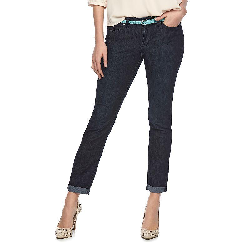 Women's LC Lauren Conrad Roll-Cuff Skinny Jeans