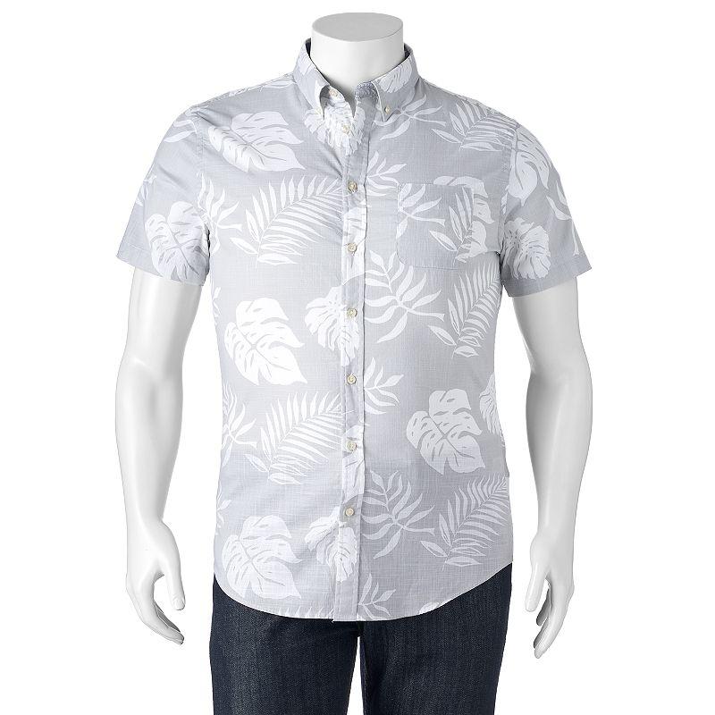 Men's SONOMA Goods for Life™ Tropical Button-Down Shirt