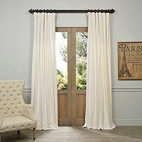 EFF Vintage Cotton Velvet Curtain