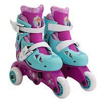 Disney's Frozen Kids 2-in-1 Glitter Roller Skates by Playwheels