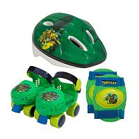 Kids Teenage Mutant Ninja Turtles Roller Skates Combo Set by Playwheels