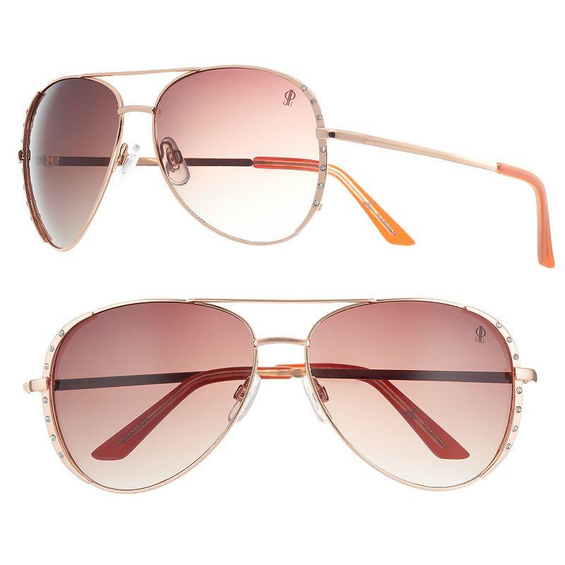 Women's Jennifer Lopez Soufflé Aviator Sunglasses