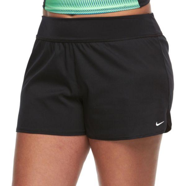 Plus Size Nike Core Solid Boardshort Bottoms