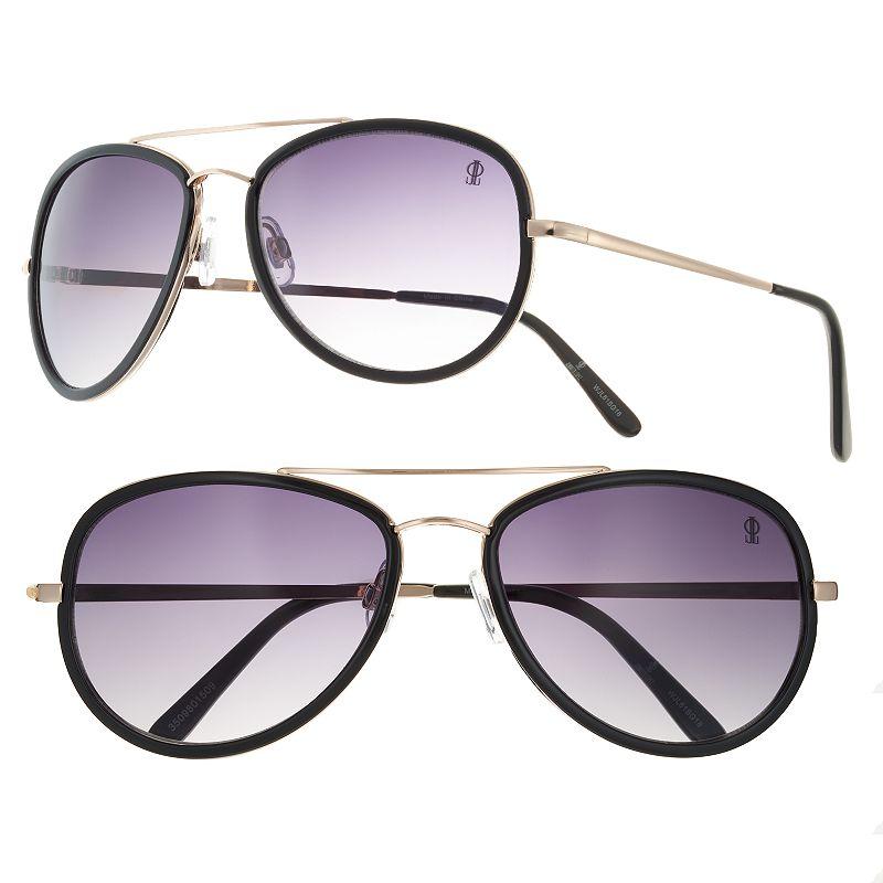 Women's Jennifer Lopez Kieko Aviator Sunglasses