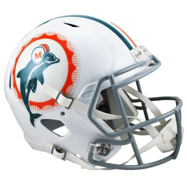 Riddell Miami Dolphins 1966 Tribute Revolution Speed Replica Helmet