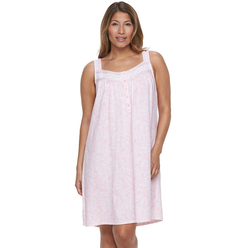 Plus Size Croft & Barrow® Pajamas: Sleepy Sunshine Knit Nightgown