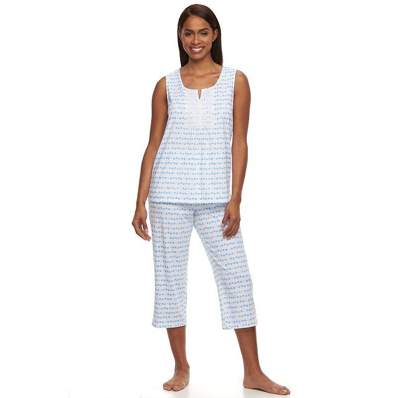 Women's Croft & Barrow® Pajamas: Sleepy Sunshine Capris Pajama Set