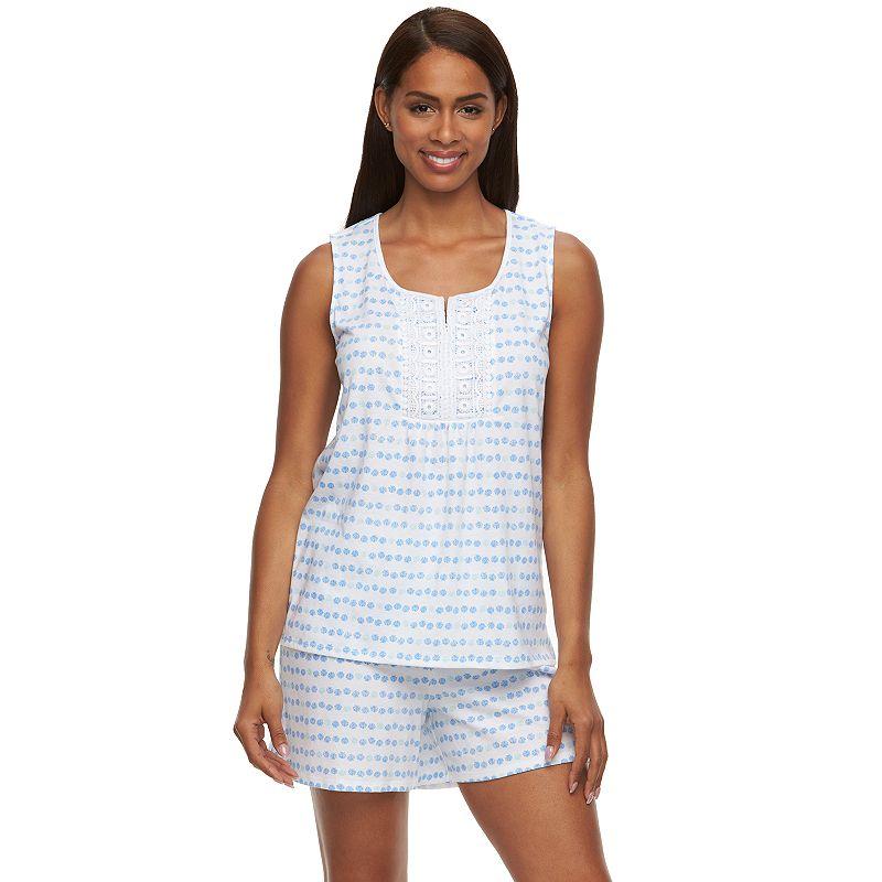 Women's Croft & Barrow® Pajamas: Sleepy Sunshine Pajama Set