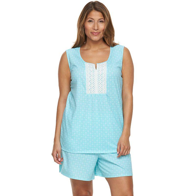 Plus Size Croft & Barrow® Pajamas: Sleepy Sunshine Pajama Set
