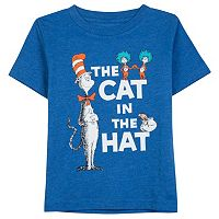 Toddler Boy Dr. Suess Cat in the Hat Tee