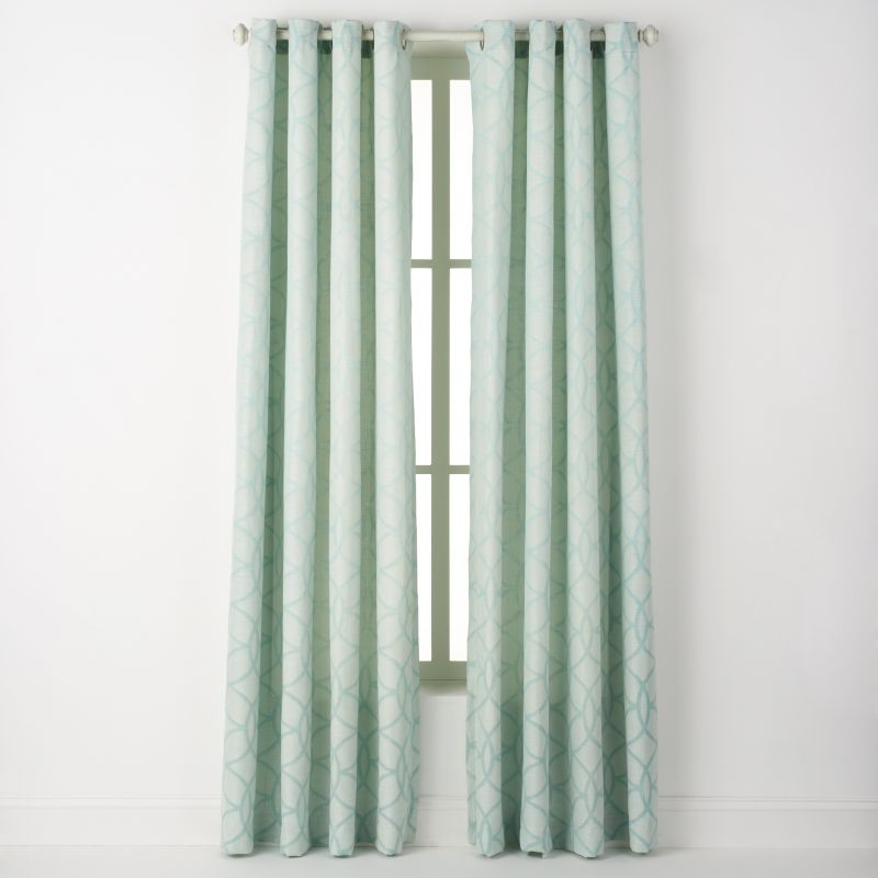 spencer home decor cerchi window panel - best home decor