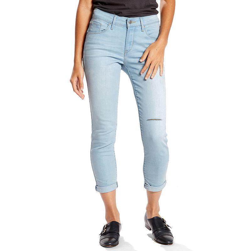 Women's Levi's Mid Rise Skinny Crop Jeans
