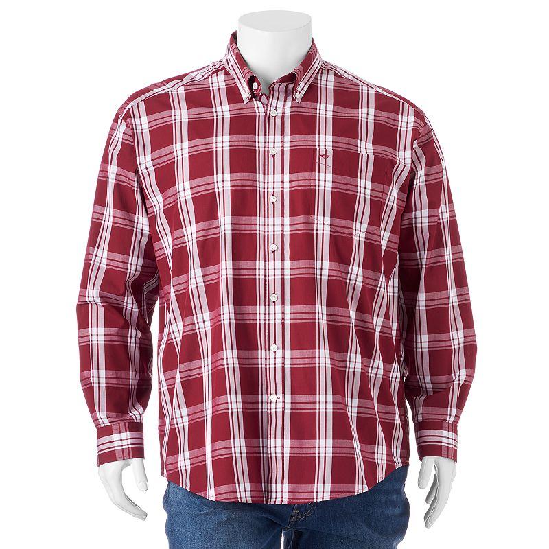 Big & Tall Dockers Plaid Button-Down Shirt