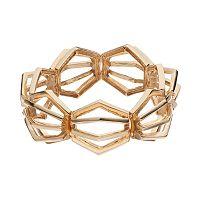 COCO LANE Hexagon Stretch Bracelet