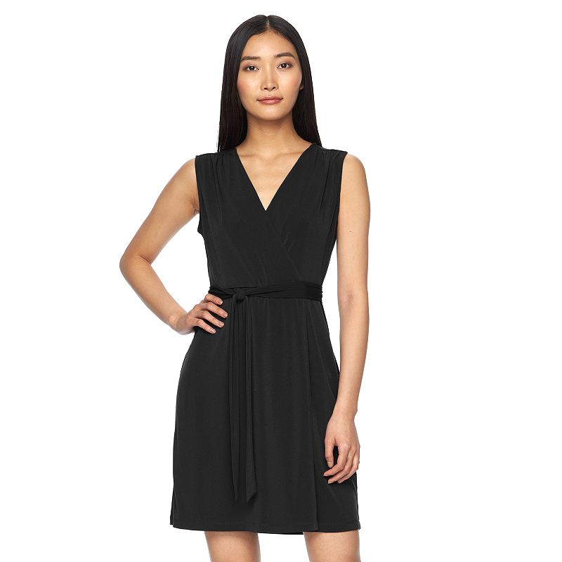 Women's Apt. 9® Print Faux-Wrap Dress