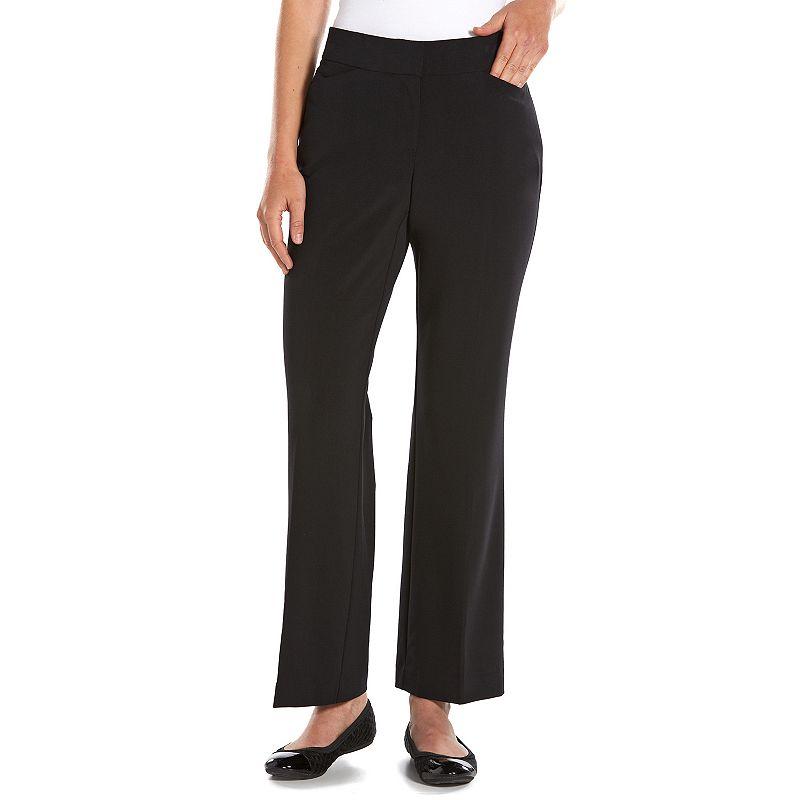 Dana Buchman Curvy Fit Straight-Leg Dress Pants - Women's