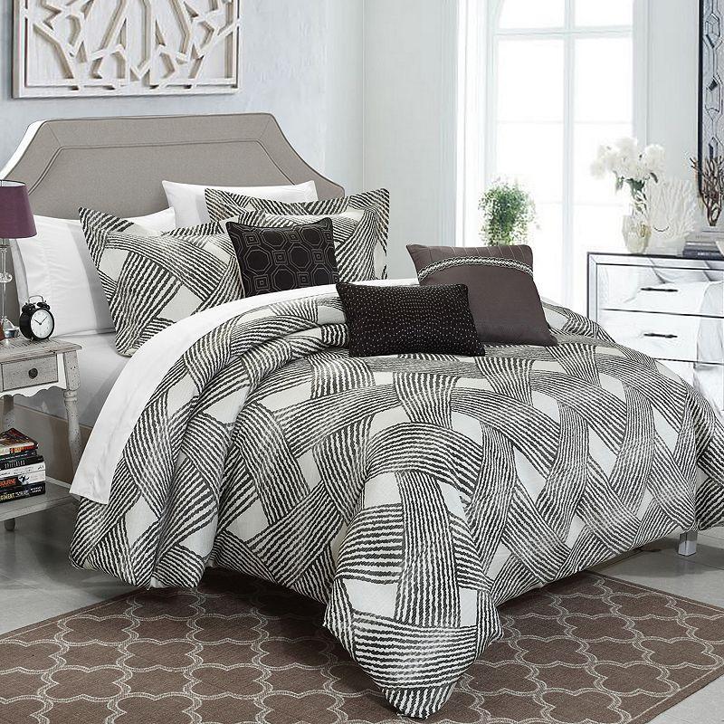 Chic Home Fiorella 10-piece Jacquard Bed Set