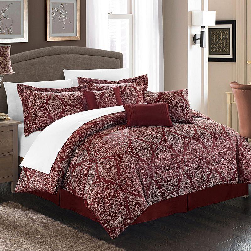 Chic Home Jessica 7-piece Jacquard Bed Set