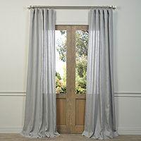 EFF Linen Sheer Curtain